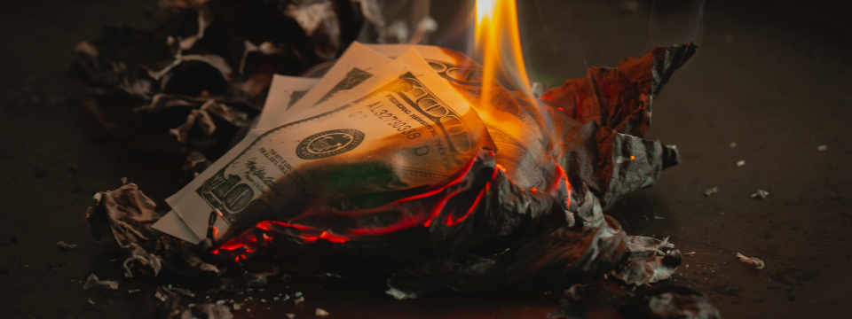 Petty cash can result in you burning your cash!